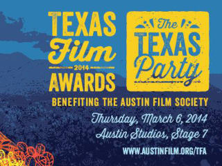 Texas Film Hall of Fame Awards 2014 poster