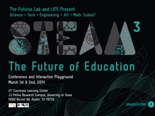 poster for Steam3 science technology education conference