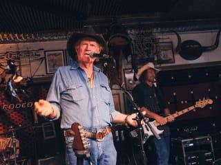 Goode Company 35th anniversary party, November 2012, Billy Joe Shaver