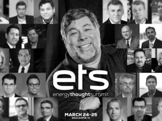 collage of speakers and guests for Energy Thought Summit at Paramount