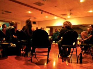 gathering for Austin Shamanism group drum circle