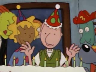 characters from Nickelodeon cartoon Doug