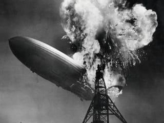 Hindenburg zeppelin crash disaster