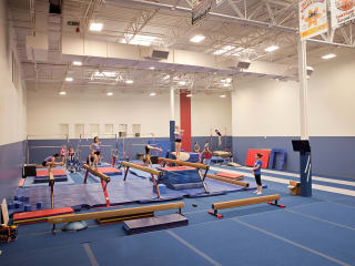 gymnastics class at Champions Westlake on Bee Caves