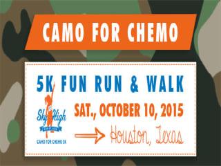 Camo for Chemo 5k Run in Houston