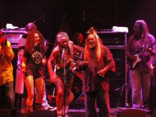 George Clinton and Parliament Funkadelic performing