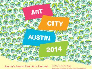 poster for 2014 Art City Austin festival