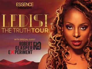 singer Ledisi for her Truth Tour poster