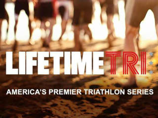 banner for Life Time Tri CapTex triathlon