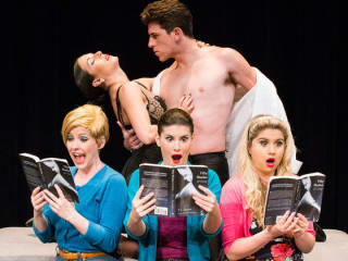 cast of musical parody 50 Shades! the Musical