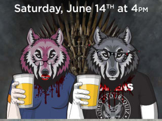 poster for Geeks Who Drink trivia Game of Thrones