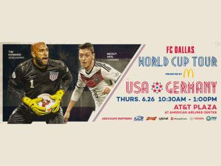 FC Dallas World Cup Tour: USA vs. Germany