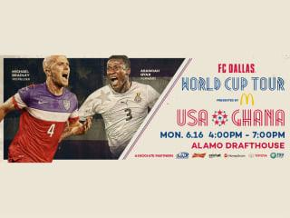 FC Dallas World Cup Tour: USA vs. Ghana