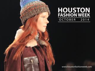 Houston Fashion Week 2014