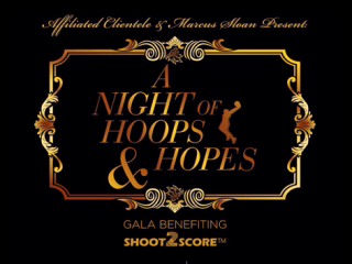 """""""A Night of Hoops and Hopes"""" benefiting Shoot2Score Hoops"""