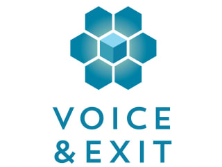 logo for Voice & Exit 2014 convention