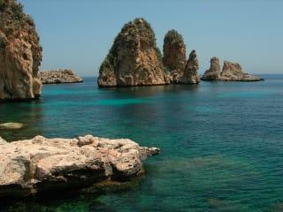 sea by Northwest Sicily, Italy