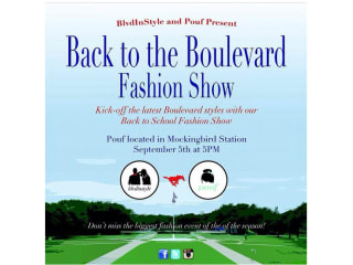 Back to the Boulevard Fashion Show