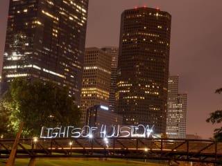"Brazilian Arts Foundation presents ""Lights of Houston - An Interactive Light Painting Art Exhibit"""