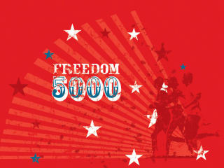 logo for Race Austin Freedom 5000 at Camp Mabry