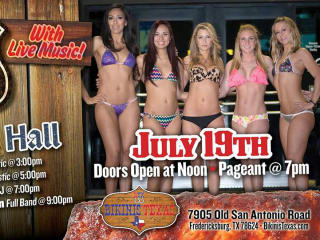 Bikinis Texas one year anniversary bbq cookoff and bikini pageant