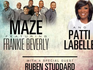 Maze featuring Frankie Beverly in concert with Patti LaBelle and Ruben Studdard