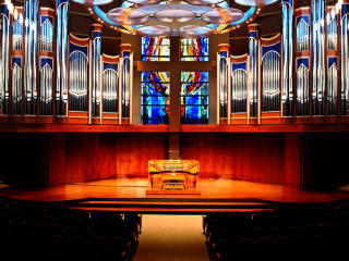 Belin Chapel, Morris Cultural Arts Center, Houston Baptist University