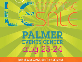 Le Garage Sale boutique palmer events center august 2014