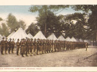 Heritage Society exhibition opening: Answering The Call to Serve Camp Logan, Houston, Texas 1917–1919