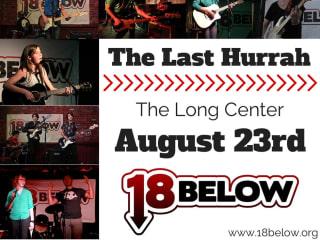 poster 18Below Last Hurrah fundraiser