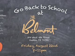 ACE Back to School fundraiser at the Belmont