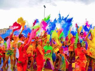 Color Fun Fest 5K Run