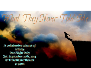 Jarell Rochelle presents What They Never Told Me