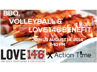"""BBQ, Volleyball and Love146 Benefit"" at Woodsedge Community Church"