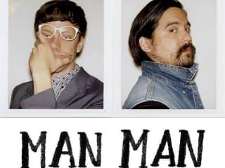 Man Man band poster