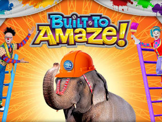 Ringling Bros. and Barnum and Bailey circus Build to Amaze!