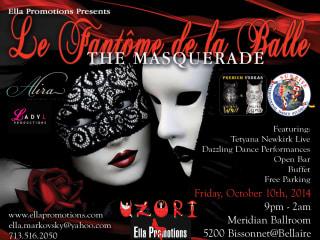 "Ella Promotions presents ""Le Fantome de la Balle: The Masquerade"""