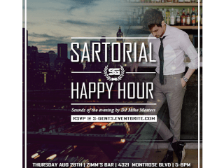 Southern Gents Sartorial Happy Hour