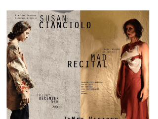 Susan Cianciolo and Mad Recital Fashion Presentation and Art Performance