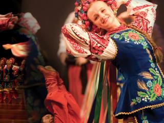 Indo-American Association Houston presents Voloshky Ukrainian Dance Ensemble in Steppes: A Crossover