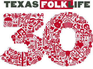 poster Texas Folklife 30th Anniversary celebration