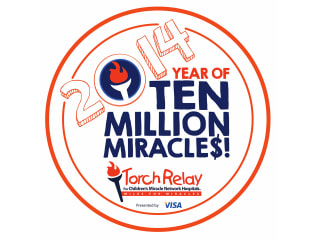 Torch Relay for Children's Miracle Network Hospitals