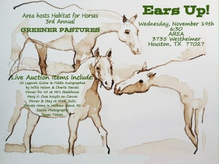 """Third Annual """"An Equine Evening for Greener Pastures"""" benefiting Habitat for Horses"""