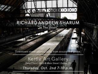 Kettle Art Gallery presents Richard Andrew Sharum