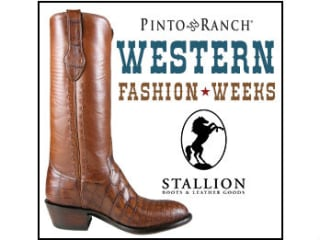 Pinto Ranch presents Stallion Boots