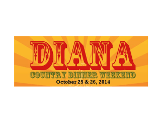 Diana Country Dinner Weekend