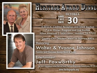 Heritage Award Dinner benefiting Boys and Girls Country