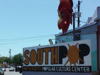 SouthPop - South Austin Popular Culture Center
