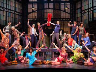 TUTS 2014-2015 season Kinky Boots Broadway
