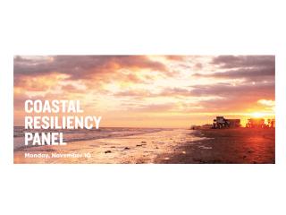 Coastal Resiliency Panel